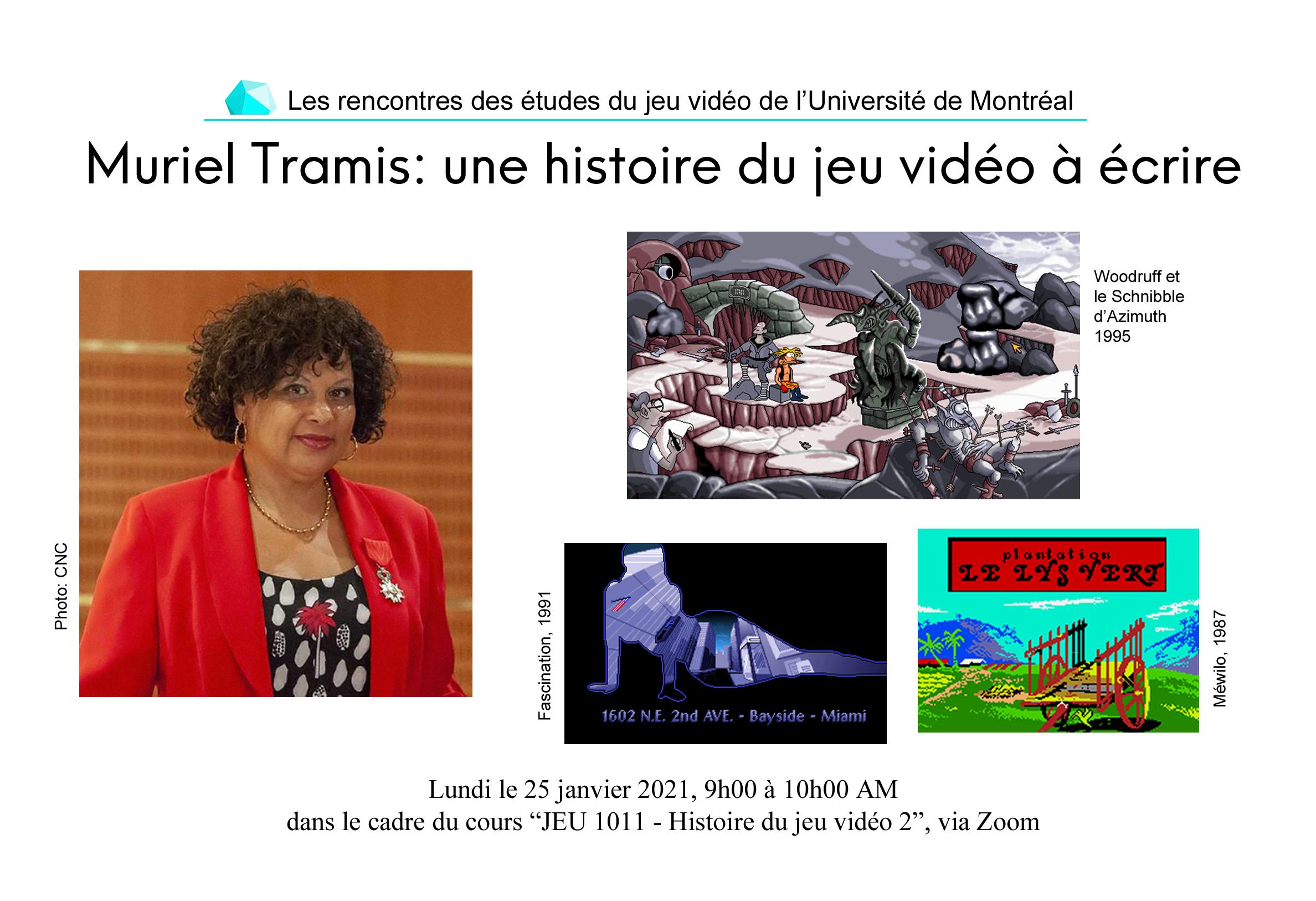 Rencontre Muriel Tramis