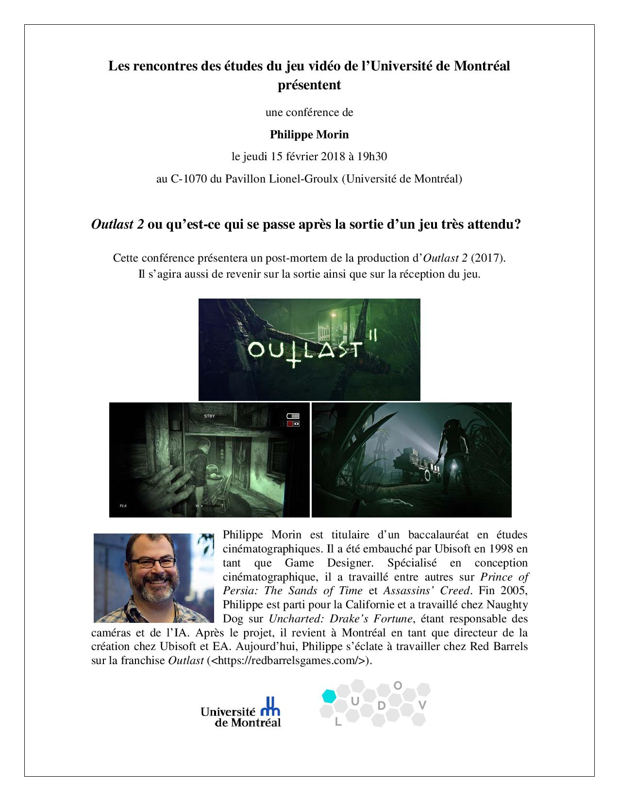Rencontre Philippe Morin