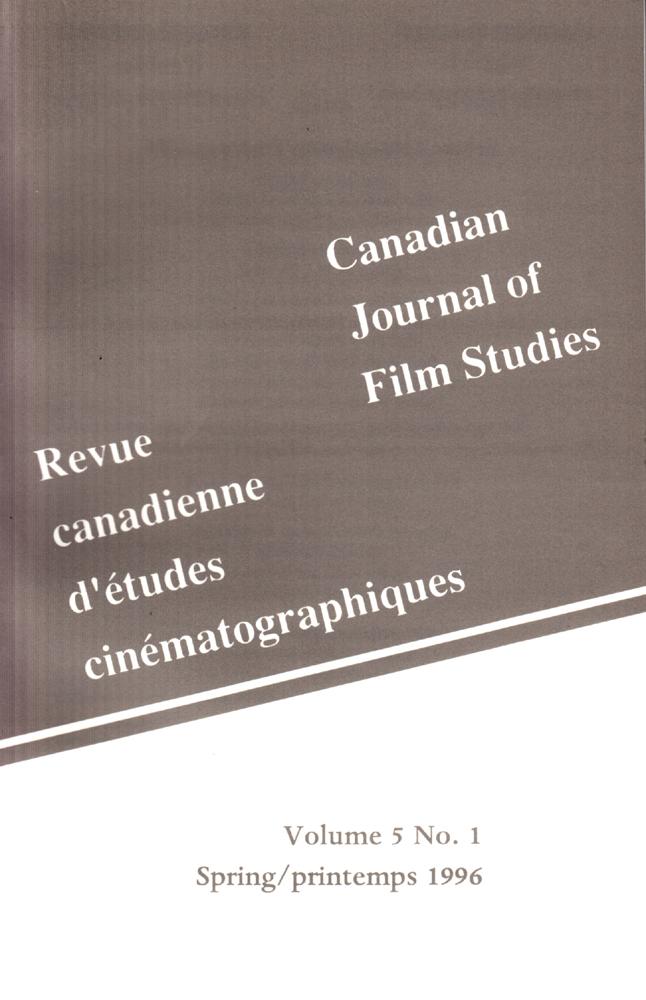 Revue Canadienne d'études cinématographiques
